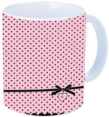 Rawkart Pink Black print Ceramic Mug