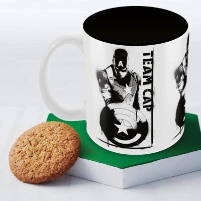Marvel Civil War- team cap Officially Licensed (pack of 1) Ceramic Mug
