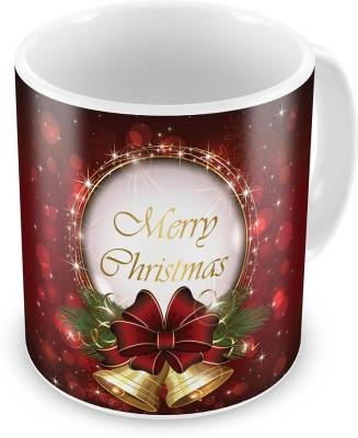 Kiran Udyog Kiran UdyogPrinted Fancy Style Maroon Coffee  606 Ceramic Mug