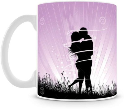 Saledart Mg646-Kissing In Kissing Love Masage Ceramic Mug