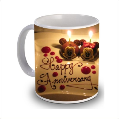 Print Hello happy anniversary 81 Ceramic Mug
