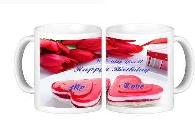 Shopmillions Happy Birthday Candy Ceramic Mug