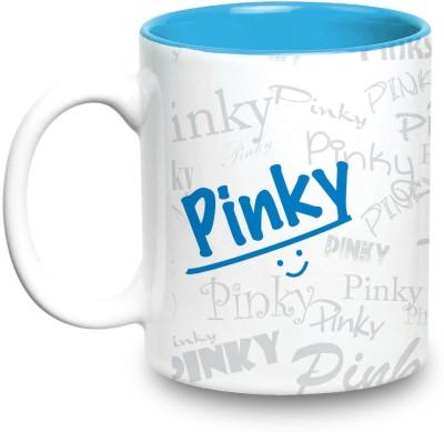 Hot Muggs Me Graffiti  - Pinky Ceramic Mug