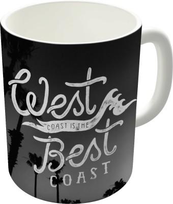 Dreambolic West Coast Is The Best Coast Ceramic Mug