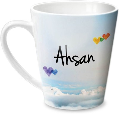 Hot Muggs Simply Love You Ahsan Conical  Ceramic Mug