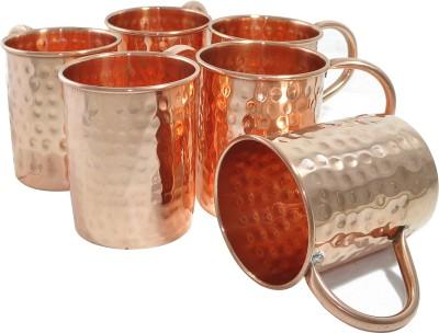 AsiaCraft MOSCOWMUG-003-6 Copper Mug