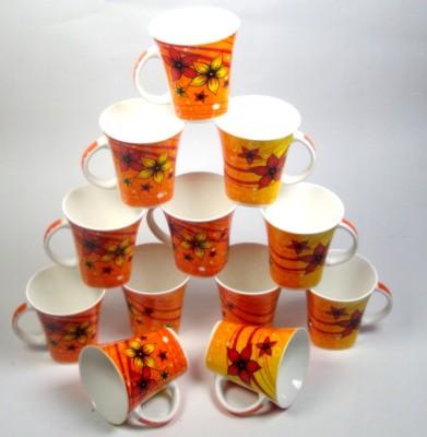 Clay Craft CP/Hilton Flower  Bone China Mug