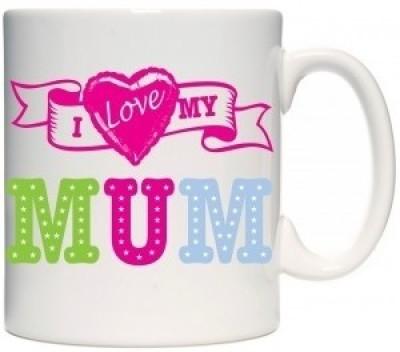 Giftsmate I Love My Superstar Mum Ceramic Mug
