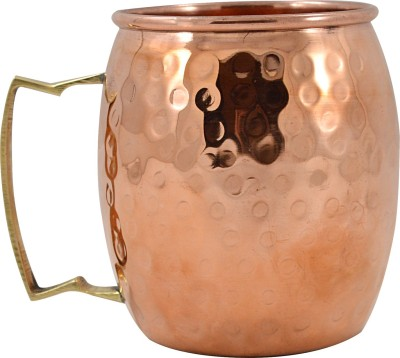 Ankur Shopping Cart Hammered Moscow  Copper Mug