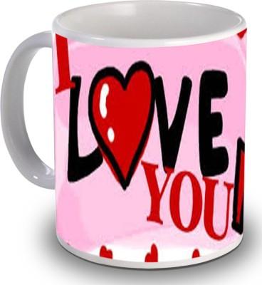 PSK I Love You H1002 Ceramic Mug