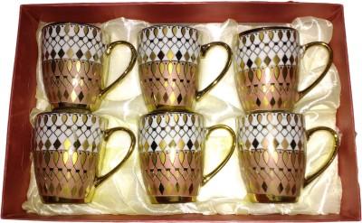 Gold Crust LB1015 Bone China Mug