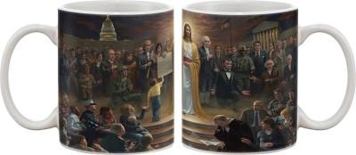 Artifa Jesus Christ God Porcelain, Ceramic Mug