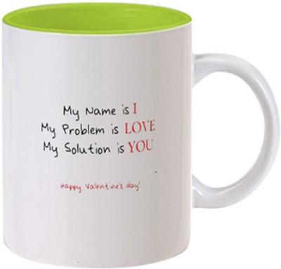 Allthingscustomized Happy Valetine Day Ceramic Mug
