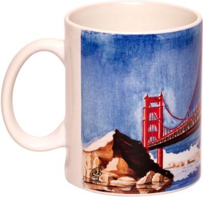 IMFPA Golden Gate Bridge Ceramic Mug