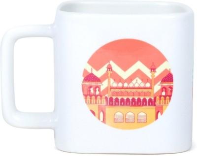 Chumbak Monuments Square Ceramic Mug(250 ml) at flipkart