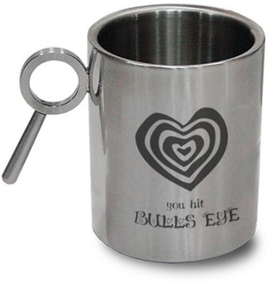 Hot Muggs For You - You Hit Bulls Eye Stainless Steel Mug