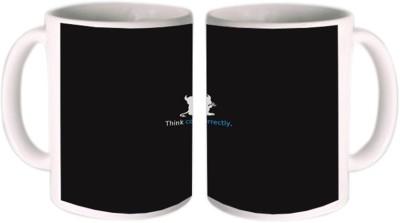 Shopkeeda Think Correctly Ceramic Mug
