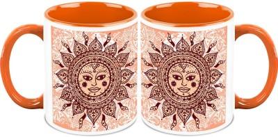 HomeSoGood The Provider Of Light And Energy (QTY 2) Ceramic Mug