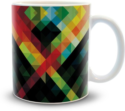 Shoppers Brand Angled Ceramic Mug