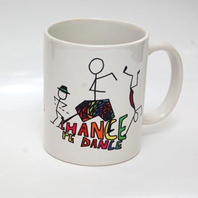 The Purple Sack ChanceDance Ceramic Mug