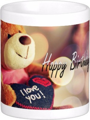 Exoctic Silver Happy Birthday To You : B,day 028 Ceramic Mug