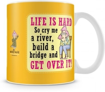 Aunty Acid Life is hard Ceramic Mug