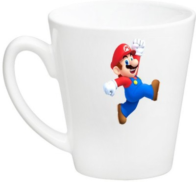 Huppme Mario Conical  Ceramic Mug