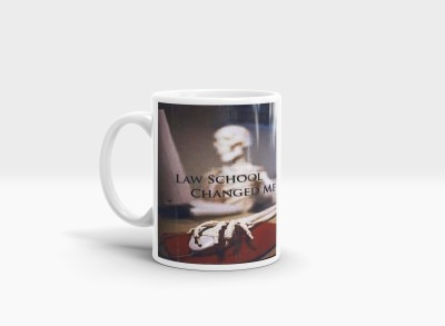 Hainaworld Law School Changed Me Coffee  Ceramic Mug