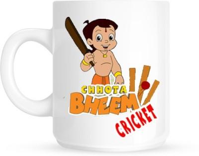 Hainaworld Chota Bheem Cricket Coffee  Ceramic Mug