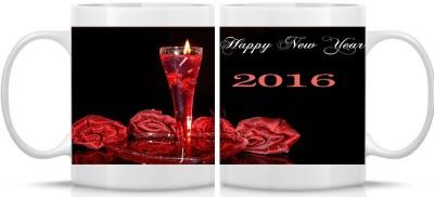 Shoperite very nice Happy New Year Ceramic Mug