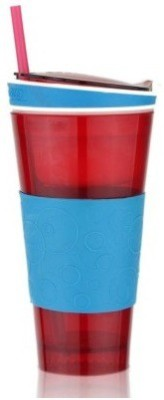Craftzcreation Snackeez Multi Purpose Drink & Snack Travel Cup Plastic Mug