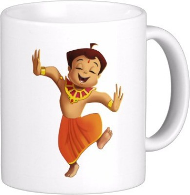 Exoctic Silver Chhota Bheem Series Kjl003 Ceramic Mug