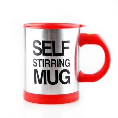 i-gadgets Self Stirring Stainless Steel, Plastic Mug