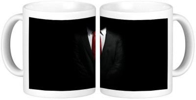 Shopmillions Man In Black Ceramic Mug