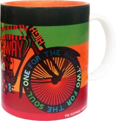 The Elephant Company Biker Life Ceramic Mug