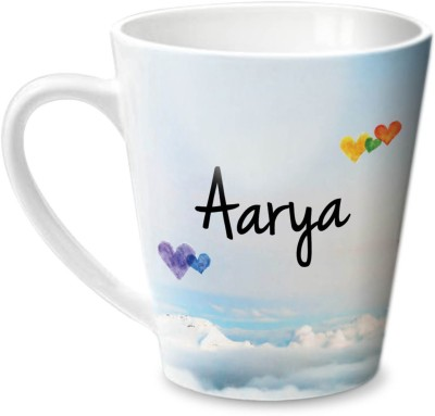 Hot Muggs Simply Love You Aarya Conical  Ceramic Mug