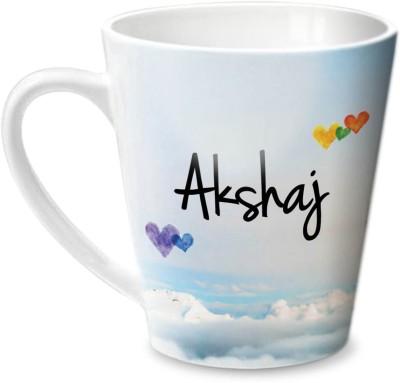 Hot Muggs Simply Love You Akshaj Conical  Ceramic Mug