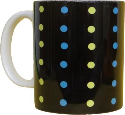 CreativesKart Modern Dots Ceramic Mug