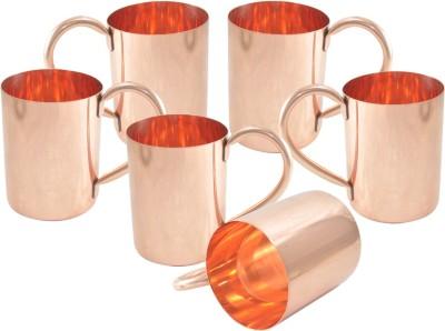 Dakshcraft Plain Serveware Copper Mug