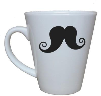 Thelostpuppy Moustache6smg Ceramic Mug