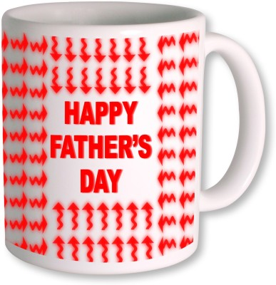 PhotogiftsIndia Happy Fathers Day 180 Ceramic Mug