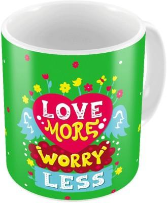 Home India Print Coffee  n Filled Cushion Pair 325 Ceramic Mug