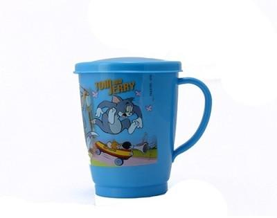 Pratha Cartoon Stainless Steel, Plastic Mug