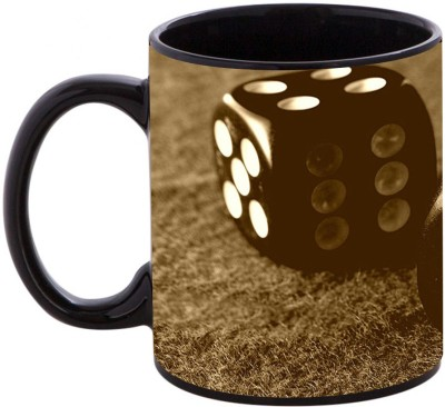 Shopmania Printed-BLK-1477 Ceramic Mug