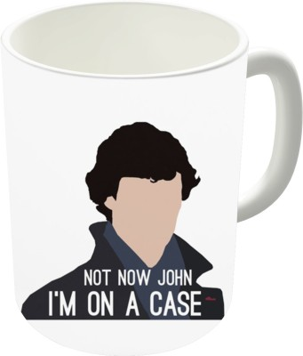 The Fappy Store Not Now John I,M On A Case Ceramic Mug
