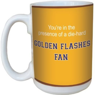 Tree-Free Greetings Greetings lm44752 Golden Flashes College Basketball Ceramic  with Full-Sized Handle, 15-Ounce Ceramic Mug
