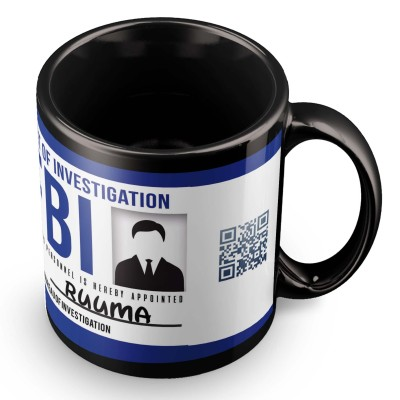 posterchacha Ruuma FBI Id Tea And Coffee Ceramic Mug(300 ml)