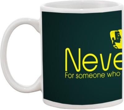 Go online shop Never Cry Ceramic Mug