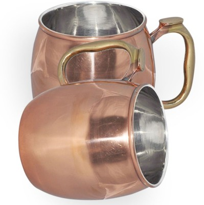 AsiaCraft MOSCOWMUG008-2 Copper Mug