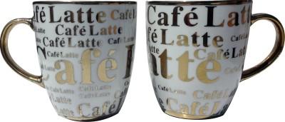 Neos Golden Latte Coffee Ceramic Mug